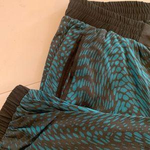 torrid Pants - Torrid Front Twill Pant: Reptile Print
